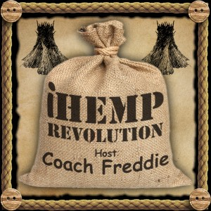 Coach Freddie travels the US talking about hemp.